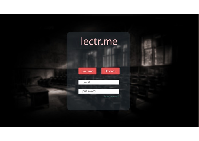 lectr.me – screenshot 1