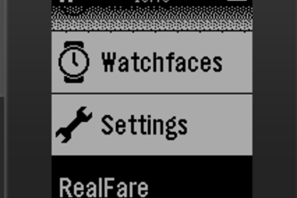 RealFare for Pebble