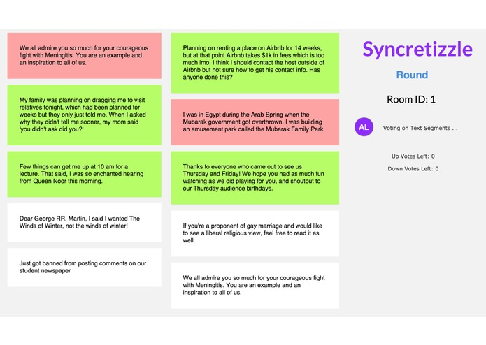 syncretizzle – screenshot 1