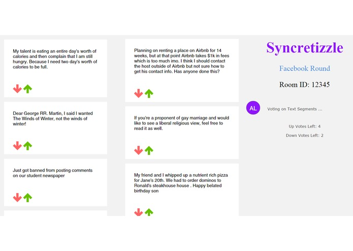 syncretizzle – screenshot 2