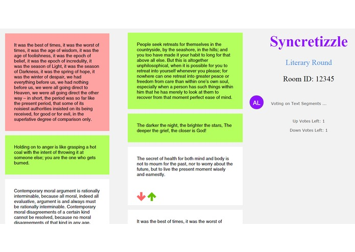 syncretizzle – screenshot 3