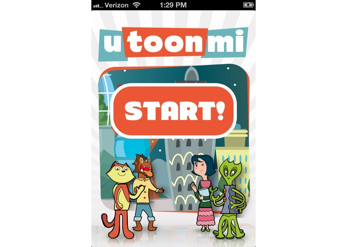 utoonmi iOS App – screenshot 1