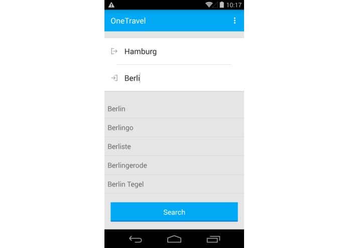 OneTravel – screenshot 1