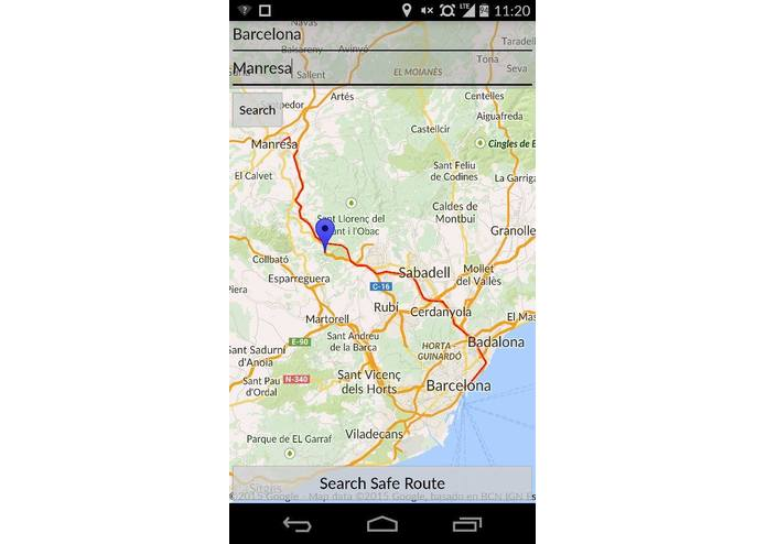 Safest Route Planner – screenshot 4