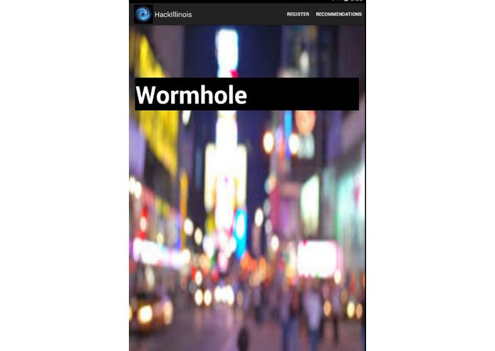 Wormhole – screenshot 1
