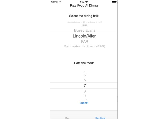 EasyDining – screenshot 1