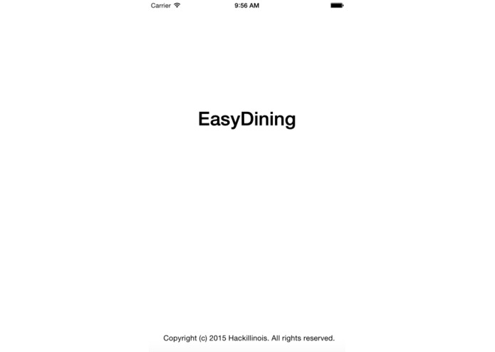 EasyDining – screenshot 2