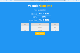 vacationroulette