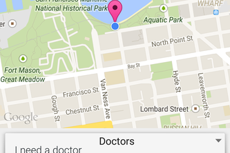 DRuber - A real-time location aware platform for connecting doctors and patients