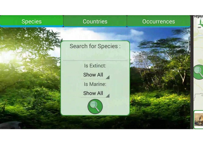The GBIF App – screenshot 7