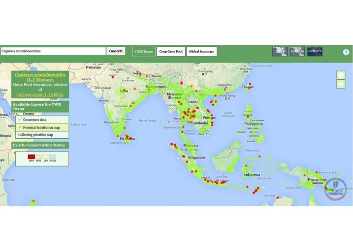The Crop Wild Relatives Global Atlas – screenshot 3