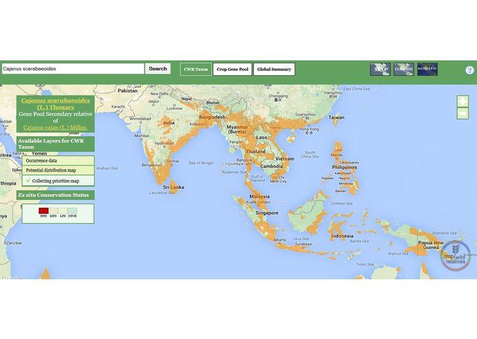 The Crop Wild Relatives Global Atlas – screenshot 4