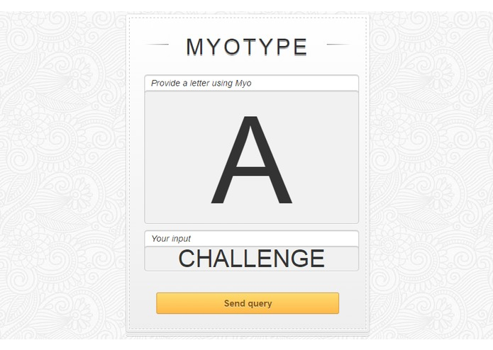 MyoType – screenshot 1
