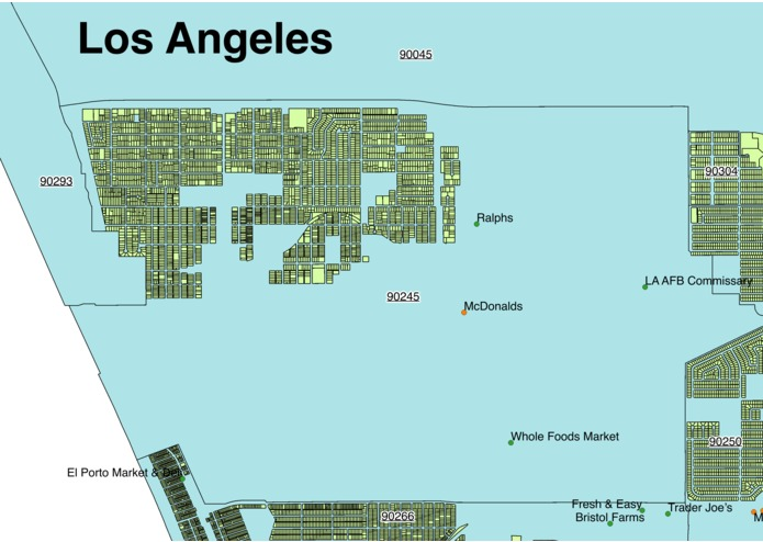Los Angeles - Where are the Food Deserts? – screenshot 1