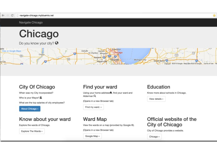 Navigate Chicago – screenshot 1
