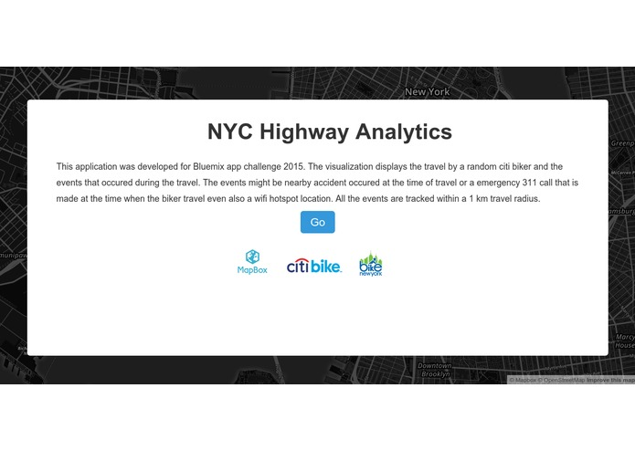 NYC Highways Analytics – screenshot 1