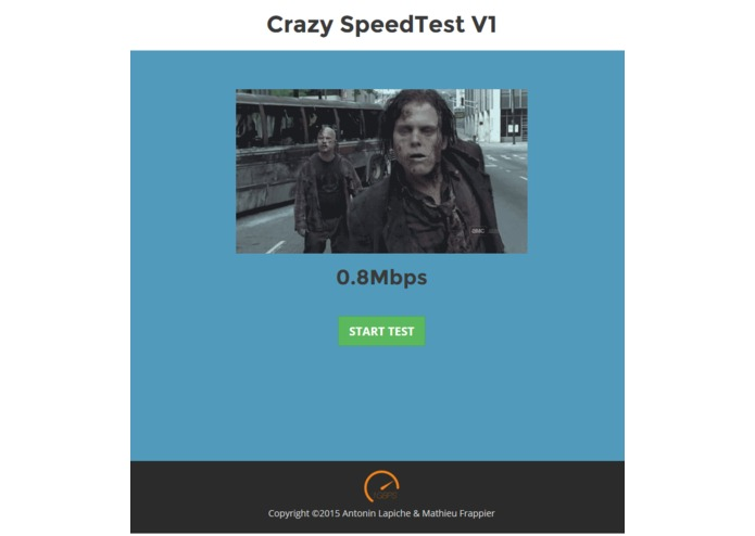 Crazy SpeedTest – screenshot 1