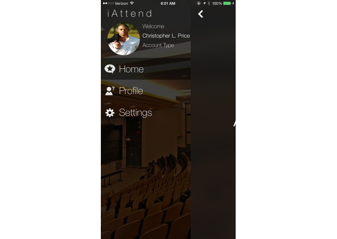 iAttend - iBeacons and TouchID for Attendance – screenshot 2