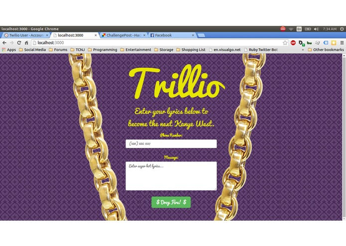 Trillio – screenshot 1
