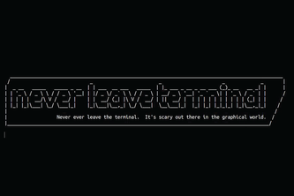 nlt: never leave terminal