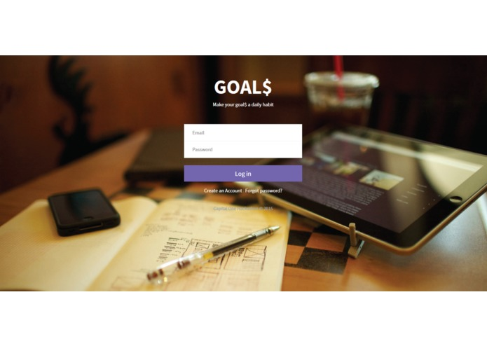 GOAL$ – screenshot 1