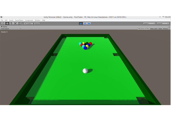 Leap Pool – screenshot 1