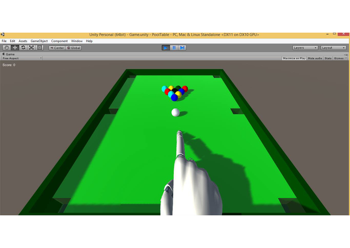 Leap Pool – screenshot 2