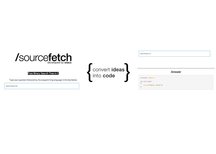 SourceFetch – screenshot 3