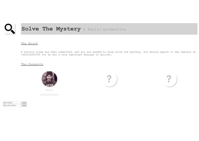 Solve the Mystery – screenshot 1