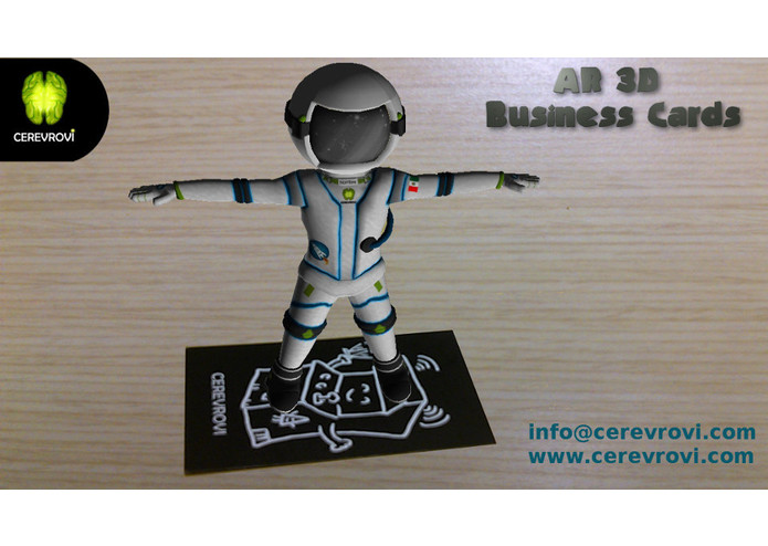 AR 3D Business Cards – screenshot 5