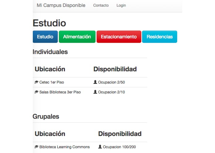 Mi Campus Disponible – screenshot 1