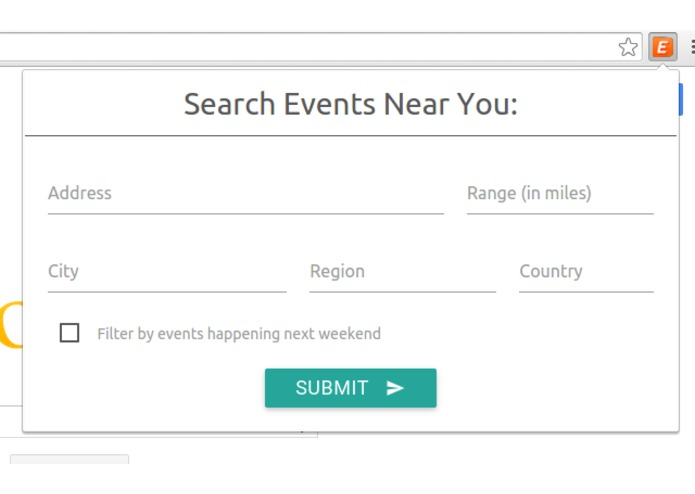 Event Finder – screenshot 3