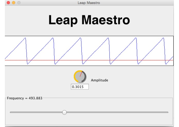 Leap Maestro – screenshot 1