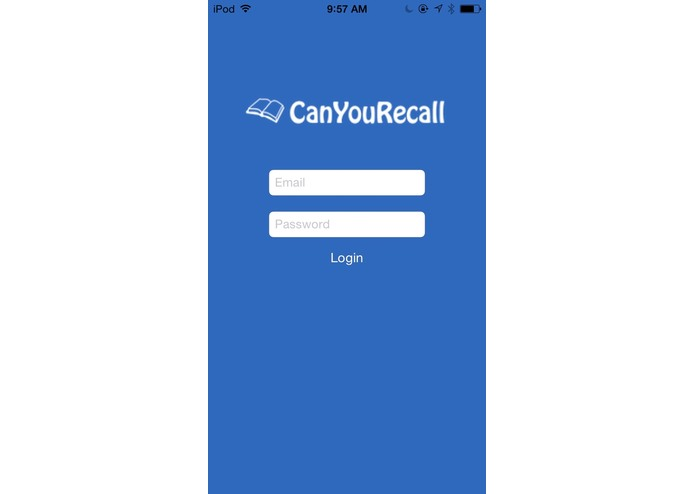 CanYouRecall – screenshot 1