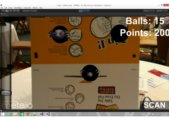 Interactive Ball IN – screenshot 1