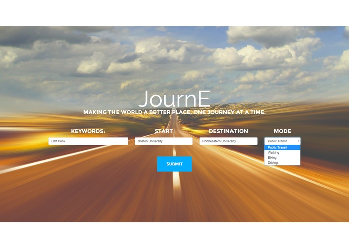 JournE – screenshot 1