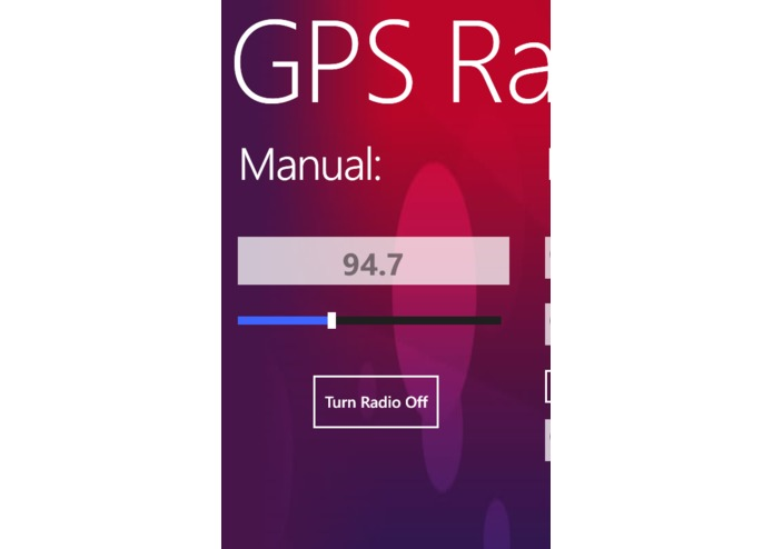 GPS Radio – screenshot 1