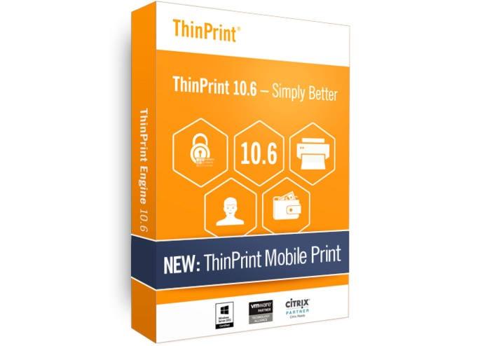 ThinPrint Mobile Print – screenshot 1