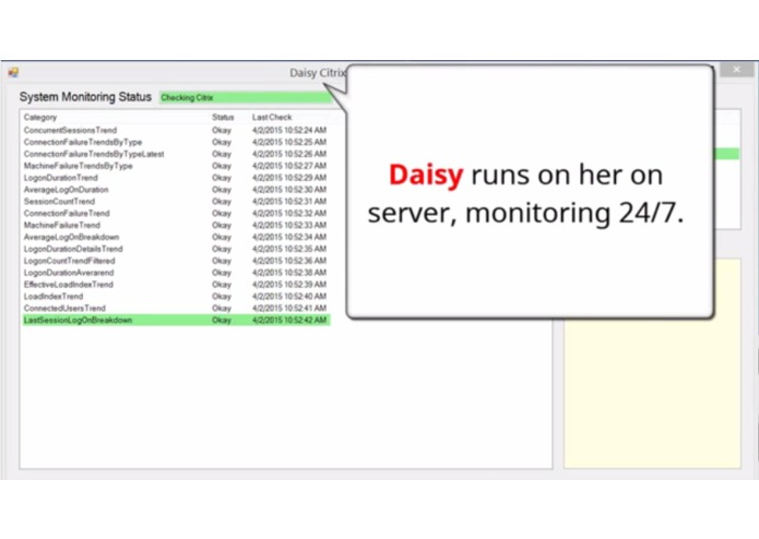 Daisy Artificial Intelligence - Citrix IT Liaison  – screenshot 3