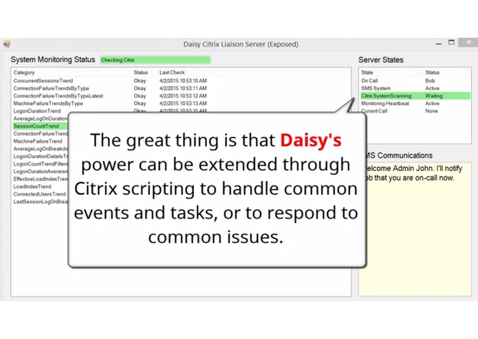 Daisy Artificial Intelligence - Citrix IT Liaison  – screenshot 7
