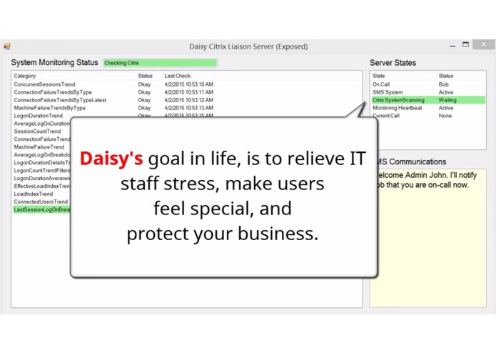 Daisy Artificial Intelligence - Citrix IT Liaison  – screenshot 8