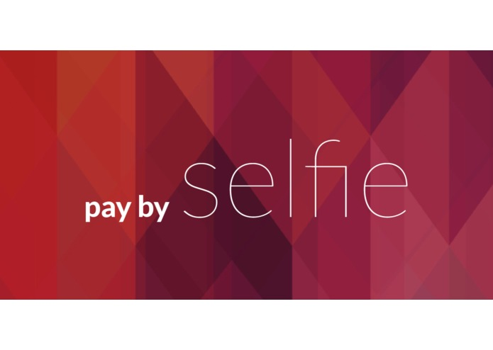 Pay by selfie – screenshot 1