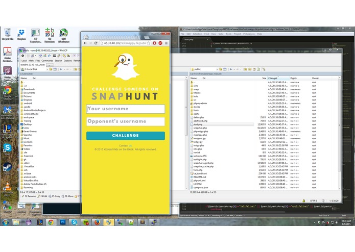 SnapHunt – screenshot 1