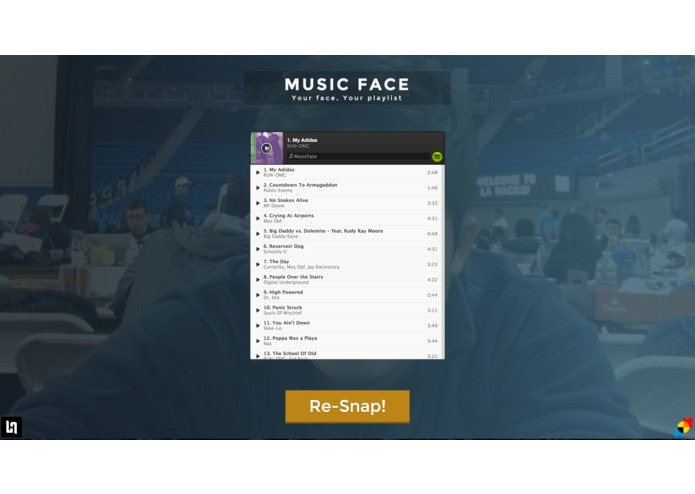 MusicFace – screenshot 2