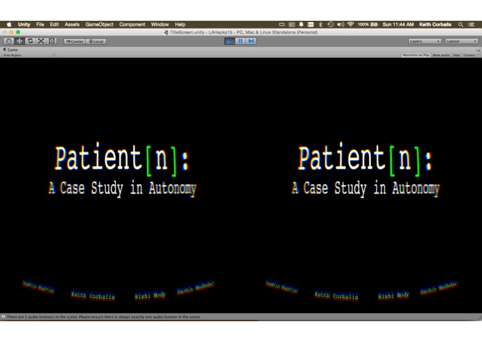 Patient[n]: A Case Study in Autonomy – screenshot 2