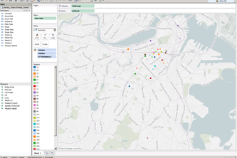 Boston Parking Tickets Visualization and Comparative Analysis Tool