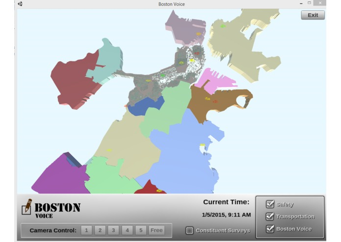 Boston Voice – screenshot 3