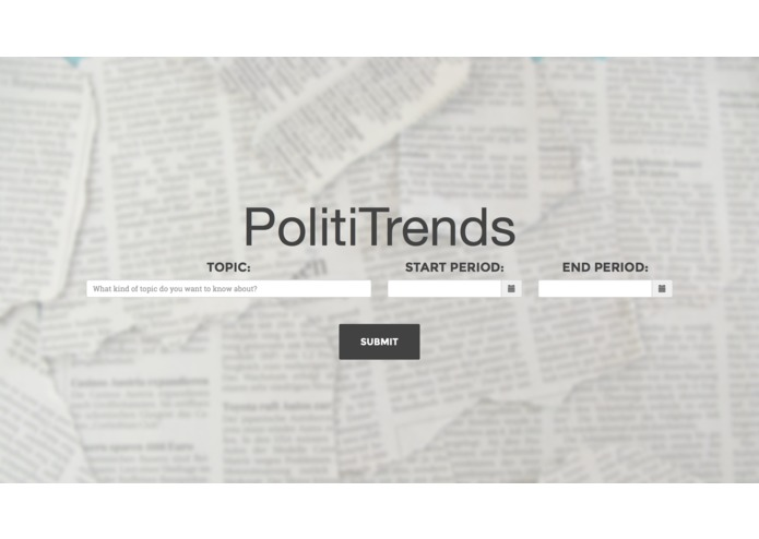PolitiTrends – screenshot 1
