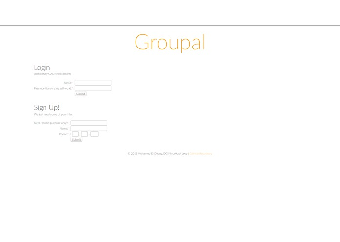 Groupal – screenshot 3