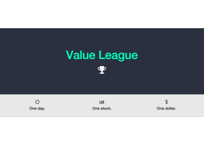 Value League – screenshot 1